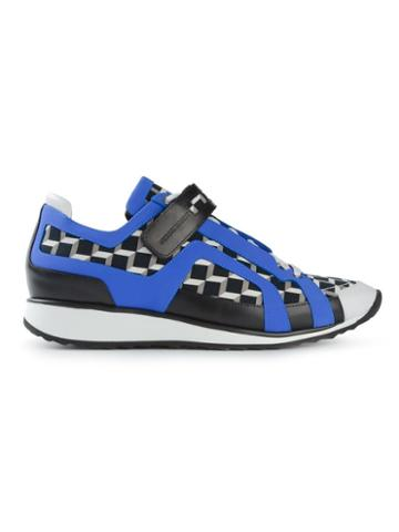 Pierre Hardy 'cube' Print Sneakers