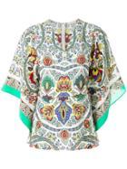 Etro Printed Floaty Blouse - Multicolour