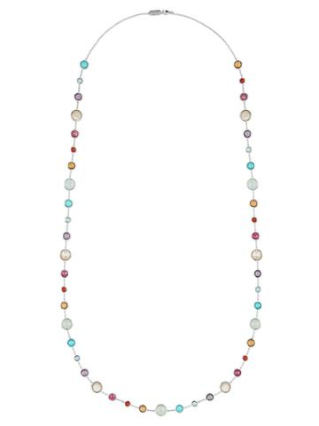 Ippolita Lollitini Long Necklace In Sterling Silver