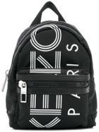 Kenzo Printed Backpack - Black