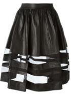 Alice+olivia Leather Skirt