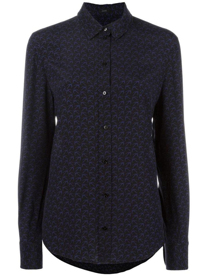 Joseph Plain Shirt - Black