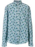 Gant Rugger Paisley Chambray Shirt - Blue