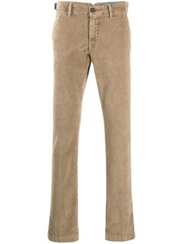 Jacob Cohen Bobby Comfort Corduroy Chinos - Brown
