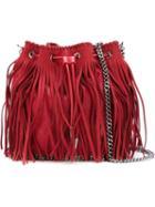 Stella Mccartney 'falabella' Fringed Bucket Crossbody Bag