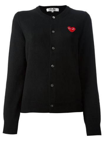 Comme Des Garcons Play 'play' Cardigan