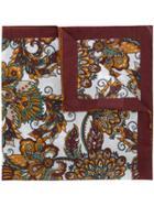 Eleventy Floral Square Scarf - Multicolour