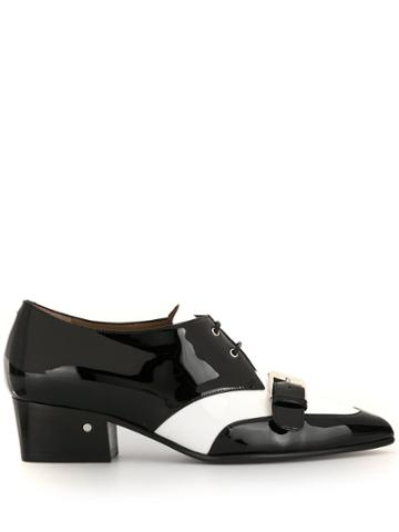 Laurence Dacade Voltaire Patent Brogues - Black