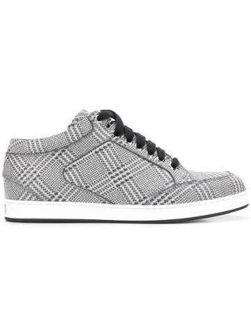 Jimmy Choo Miami Sneakers - Silver
