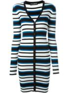Dolce & Gabbana Long Striped Cardigan