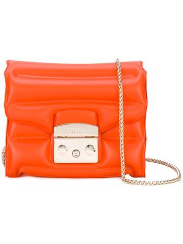 Furla - Metropolis Oxygen Bag - Women - Plastic - One Size, Yellow/orange, Plastic