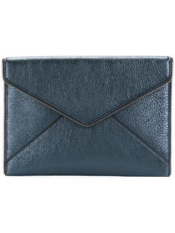 Rebecca Minkoff Envelope Shaped Clutch - Blue