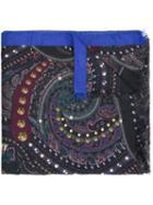 Etro Pattern Knit Scarf