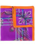 Etro All-over Print Scarf - Pink