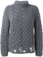 Aries Cable Knit Sweater