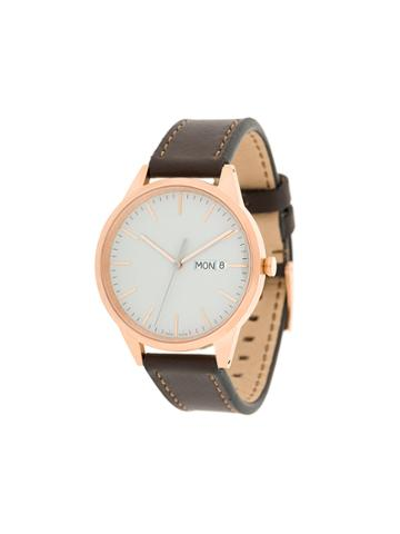 Uniform Wares C40 Chronograph Watch - Brown