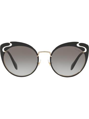 Miu Miu Miu Miu Noir Sunglasses - Grey