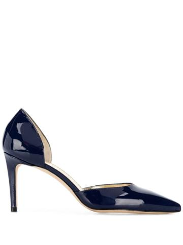 Antonio Barbato Pointed Toe Pumps - Blue