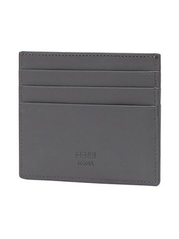 Fendi Business Card Holder - Grey