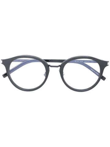 Saint Laurent - Classic Round Glasses - Unisex - Acetate - One Size, Black, Acetate