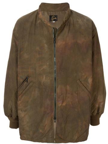 Needles Distressed Jacket - Green
