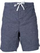 Outerknown Striped Drawstring Shorts