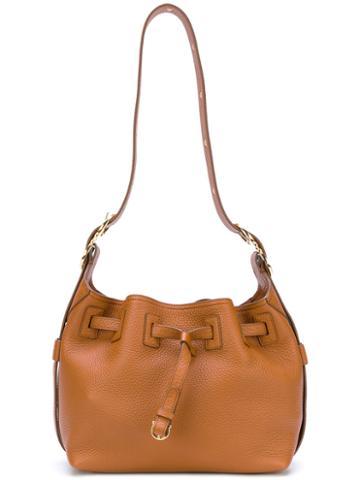 Salvatore Ferragamo - Carla Bucket Bag - Women - Leather - One Size, Brown, Leather
