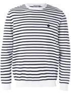 Carhartt - Striped Sweatshirt - Men - Cotton/acrylic - L, Blue, Cotton/acrylic