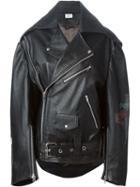 Vetements Oversized Biker Jacket