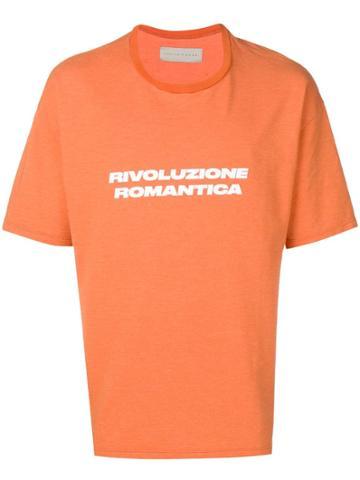 Paura Rivoluzione Romantica T-shirt - Orange