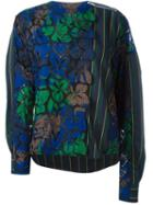 Sacai Flower Embroidered Top