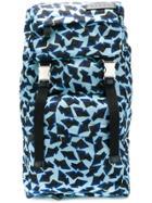 Marni Printed Backpack - Blue