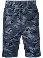 Loveless Camouflage Shorts - Blue