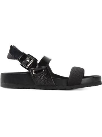 Ash Buckled Sandals