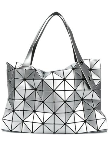 Bao Bao Issey Miyake - Geometric Style Tote Bag - Women - Pvc - One Size, Grey, Pvc