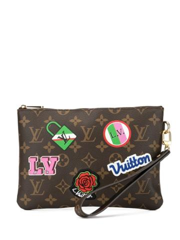 Louis Vuitton Pre-owned City Clutch - Brown