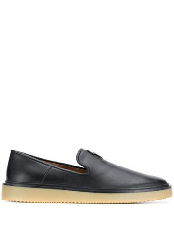 Giuseppe Zanotti Hoffman Flash Loafers - Black