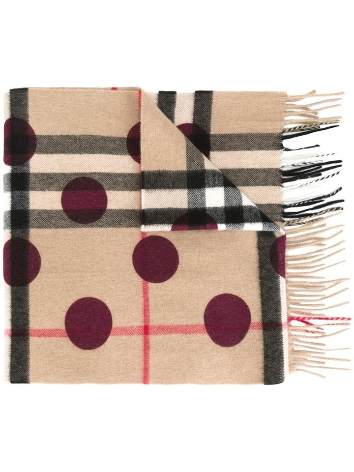 Burberry Multiple Patterned Scarf