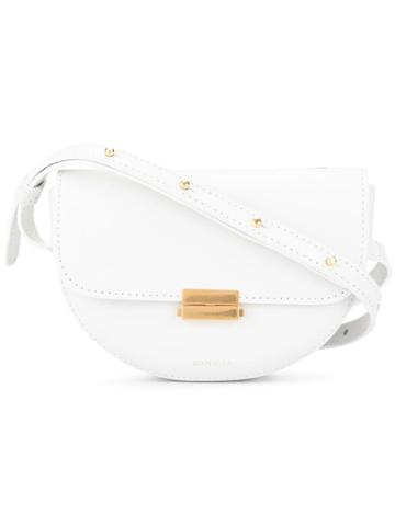 Wandler Anna Buckle Belt Bag - White
