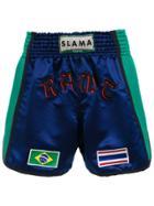 Amir Slama Boxing Shorts - Blue