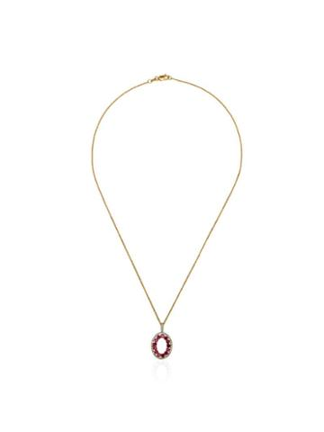 Mateo Halo Pendant Necklace - Gold