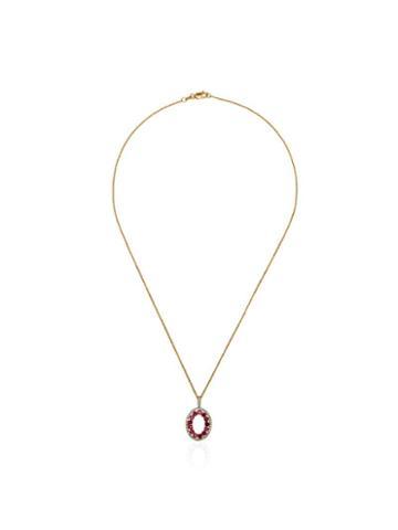Mateo Halo Pendant Necklace - Gold