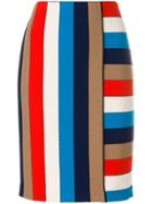 Marc Cain Striped Skirt - Multicolour