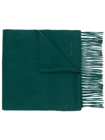 Paul Smith Cashmere Scarf - Green