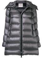 Moncler Hooded Puffer Jacket - Grey