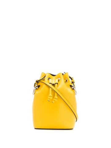 Fendi Small Mon Tresor Bucket Bag - F0m8a Yellow