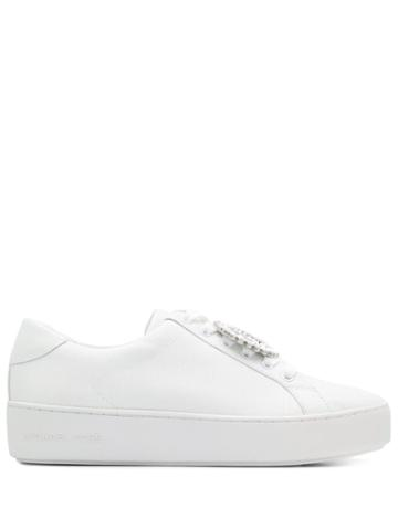 Michael Michael Kors Poppy Platform Sneakers - White