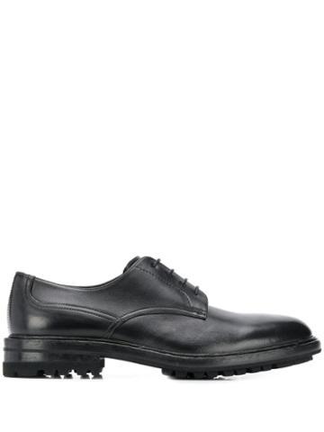 Henderson Baracco Ridged-sole Lace-up Shoes - Black
