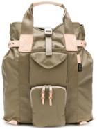 Hender Scheme Buckled Cargo Backpack - Nude & Neutrals