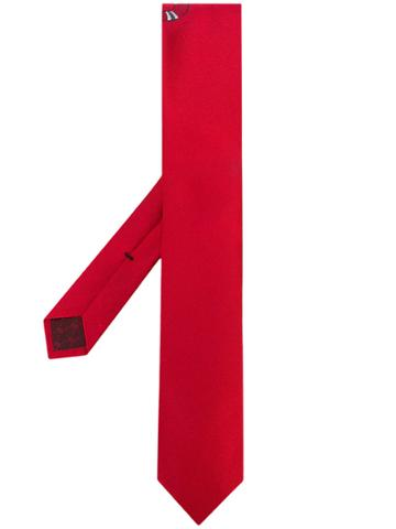 Gucci Snake Underknot Tie - Red